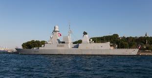 Warship Royalty Free Stock Photography