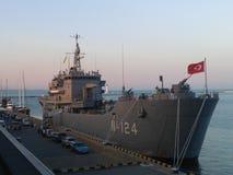 A warship 2 royalty free stock photo