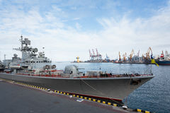 Warship Royalty Free Stock Image