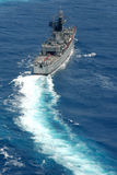 WARSHIP OF REPUBLIC INDONESIA Royalty Free Stock Images