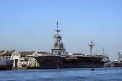 Warship, Rio de Janeiro, Brazil Stock Images
