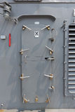Warship - security door Stock Photos