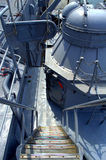 Warship stairs Stock Photography