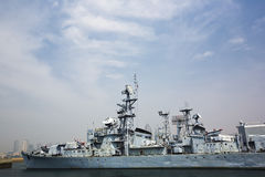 Warships Stock Photography
