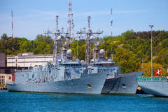 Warships Royalty Free Stock Photos