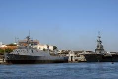 Warships, Rio de Janeiro, Brazil Stock Photography
