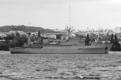 Warships in Sevastopol. Stock Photo