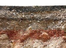 Warstwa asfaltowa droga obraz stock