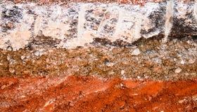 Warstwa asfaltowa droga zdjęcia stock