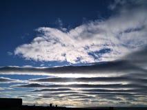 Warstwa chmury obrazy royalty free
