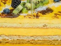 Warstwa tort Zdjęcie Stock