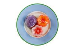 warstwa tortowy cukierki Tajlandzki rodzimy antyczny deser Zdjęcia Stock