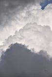 Warstwy burzowy chmur rozwijać się Zdjęcie Stock