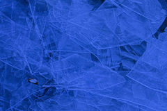 Warstwy lodowi prześcieradła obrazy stock