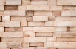 Warstwy drewniana deski ściana zdjęcie royalty free
