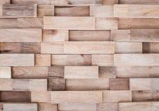 Warstwy drewniana deski ściana zdjęcie stock