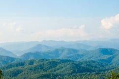 Warstwy góra Fotografia Royalty Free