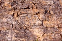 Warstwy krakingowa góry skała obrazy royalty free