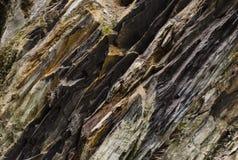 Warstwy rockowe skały Fotografia Stock