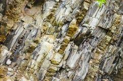 Warstwy rockowe skały Zdjęcie Royalty Free