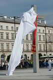 Warszaw, Poland - junho 06: ross de revelacão em Pilsu Imagens de Stock