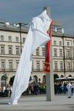 Warszaw, Polen - 6. Juni: vorstellenross in Pilsu Stockbilder