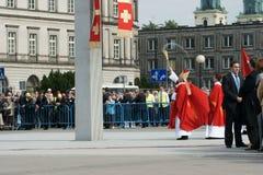 Warszaw, Polen - Juni 06: Aartsbisschop Kazimierz Ny Stock Afbeelding