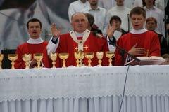 Warszaw, Polen - Juni 06: Aartsbisschop Kazimierz Ny Royalty-vrije Stock Afbeelding