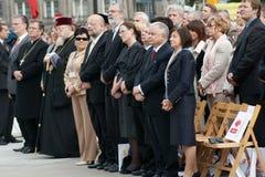 Warszaw, Polonia - 6 giugno: Presidente della Polonia Lec Fotografie Stock