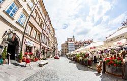 Warszawa Royaltyfri Fotografi