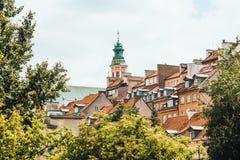 Warszawa Fotografering för Bildbyråer