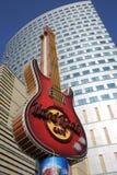 Warszawa Hard Rock Cafe Arkivbilder