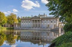 Warszawa, Lazienki Royal Palace Zdjęcie Royalty Free