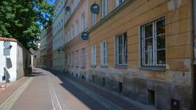 Warszawa. Passageway in Old Town Warszawa Stock Images