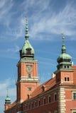 WARSZAWA POLAND/EUROPE - SEPTEMBER 17: Den kungliga slotten i nollan Arkivbilder