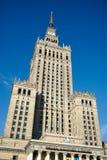 WARSZAWA POLAND/EUROPE - SEPTEMBER 17: Slott av kultur och Sci Arkivfoton