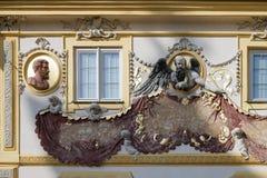 WARSZAWA, POLAND/EUROPE - WRZESIEŃ 17: Wilanow pałac w Warszawa Obrazy Royalty Free