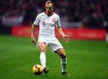 UEFA Euro 2020 draws Poland - Latvia stock photos