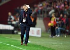 UEFA Euro 2020 draws Poland - Latvia stock photography