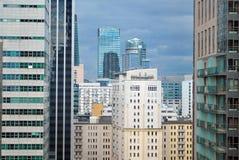 Warszawa Polen, 16 Maj 2016 Kosmopolitisk Warszawa Arkivfoto