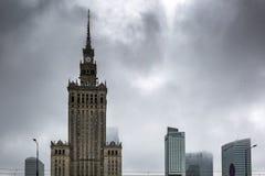 Warszawa, Polland - Zdjęcia Royalty Free
