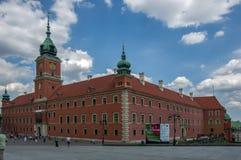 Warszawa Polska, Czerwiec, - 23, 2016 Przy grodowym kwadratem stary miasteczko w Warszawa Zdjęcie Stock