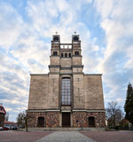 Warszawa Polska, Kwiecień, - 14, 2016: Rzymskokatolicka parafia St Therese dziecko Jezus Zdjęcia Royalty Free