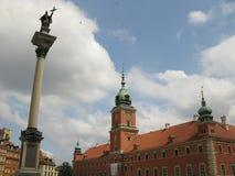 Warszawa royal palace Poland Royalty Free Stock Images