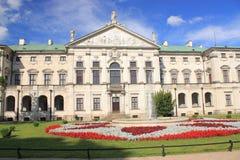 Warszawa, Stary miasteczko, Krasinskis pałac zdjęcia royalty free