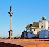 Warszawa  ,Stolica Polski Royalty Free Stock Images