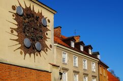 Warszawa  ,Stolica Polski Royalty Free Stock Photography