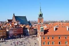 Warszawa  ,Stolica Polski Stock Images