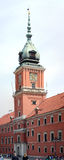 Warszawa. Torn av Royal Palace Arkivbild