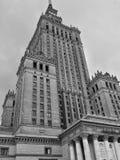 Warszawa, Warsaw, Palace of Culture stock image